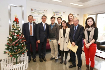 Visit by Financial Secretary Paul CHAN