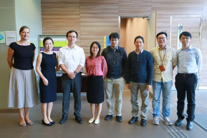 Visit by Prof. Hang LIN from the University of Pittsburgh